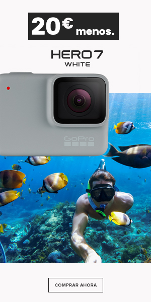 GoPro Hero 7 White lateral