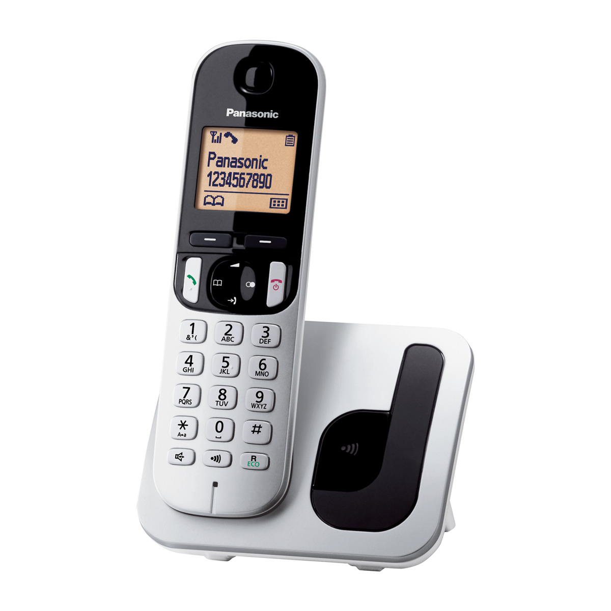 TELEFONO PANASONIC KX TGC 210 SPS GRIS