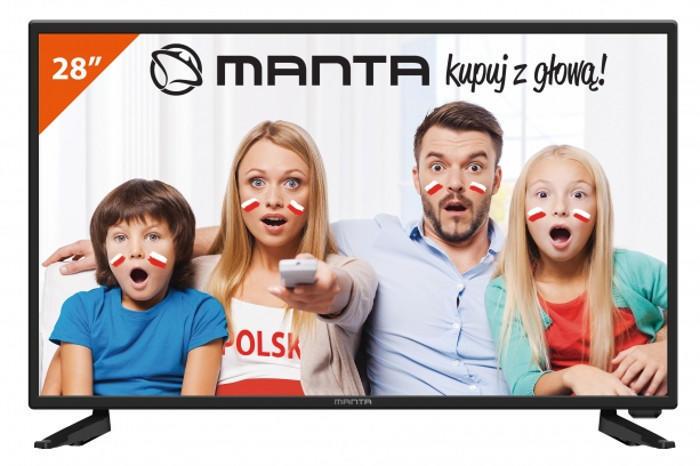 """LED MANTA 28"""" 280Q4 HD-R"""