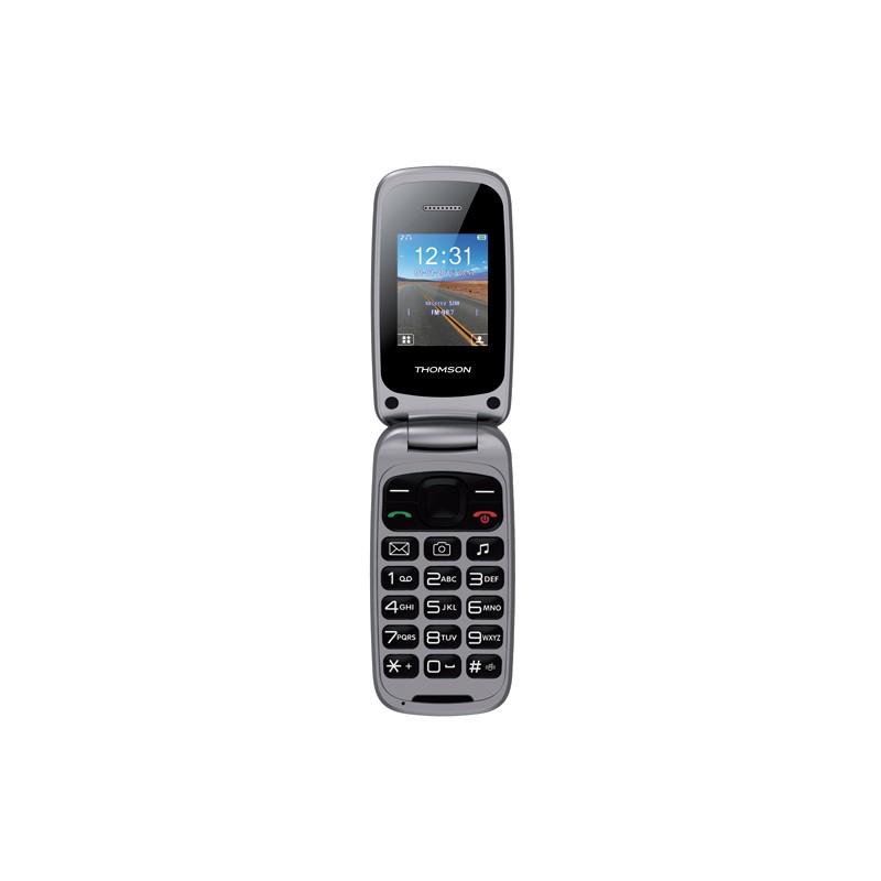 "TELEFONO THOMSON TLINK 40 PLATA 1.8"""