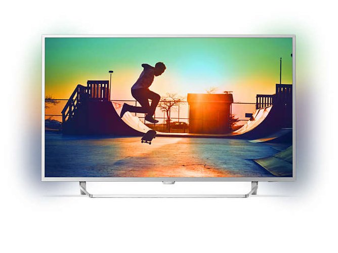 "LED PHILIPS 49"" 49PUS6412 ANDTV 4K"