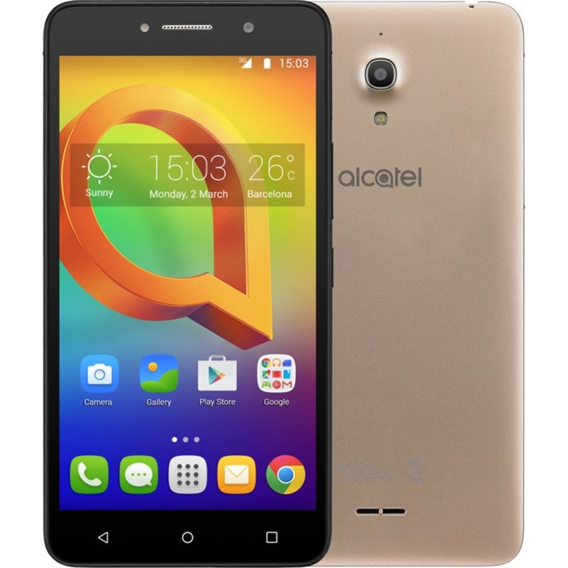 """TELEFONO ALCATEL A2XL 8Gb/1Gb 3G GOLD + FUNDA 6"""""""