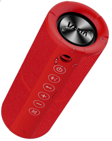 ALTAVOZ VIETA VM-BS29RD RED    BLUETOOTH