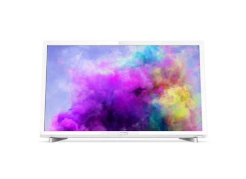 "LED PHILIPS 24"" 24PFS5603 BLANCO FHD"