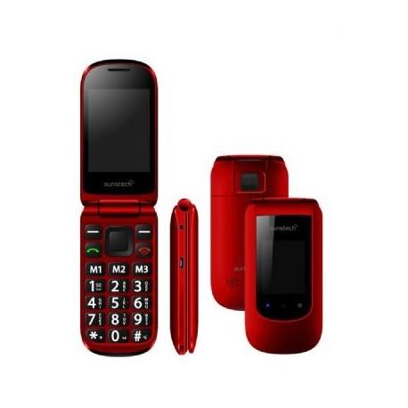 TELEFONO SUNSTECH CELT21RD ROJO